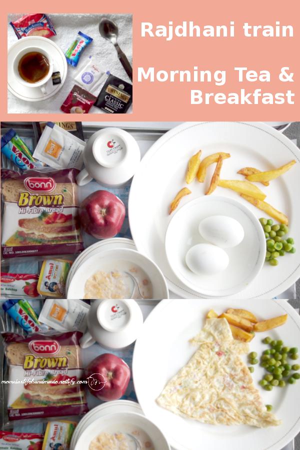 pic Rajdhani-train-AC-1st-class-Breakfast- meal