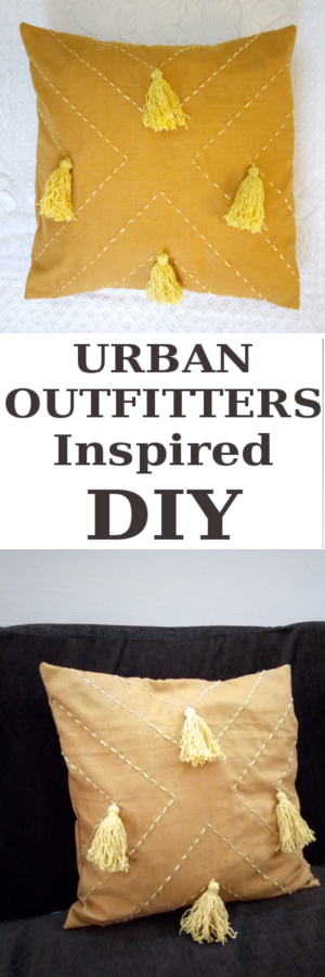 Urban-Outfitters-inspired-Tassel-Cushion-DIY