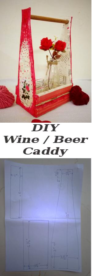 DIY-Wine-Beer-Caddy-From-Cardboard