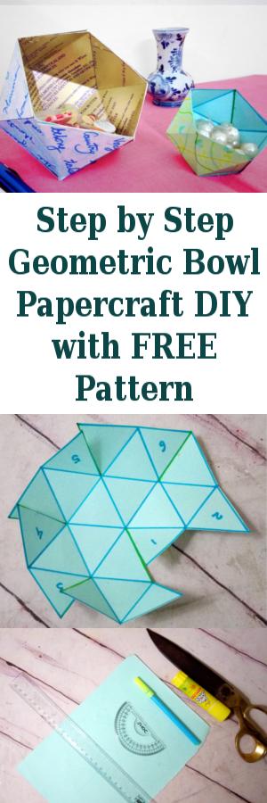 Geometric-Bowl-Papercraft-with-FREE-Pattern-Printable