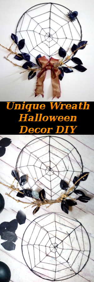Unique-Halloween-Wreath-DIY-Tutorial